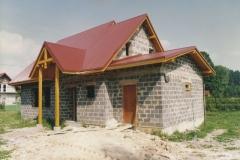 budowa siedziby koła łowieckiego wierchy milówka 13