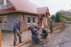 budowa siedziby koła łowieckiego wierchy milówka 14