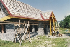 budowa siedziby koła łowieckiego wierchy milówka 21