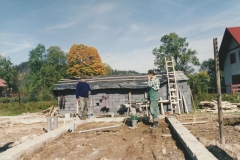 budowa siedziby koła łowieckiego wierchy milówka 23
