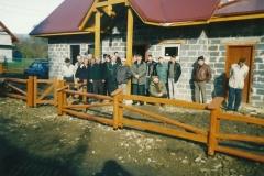 budowa siedziby koła łowieckiego wierchy milówka 3