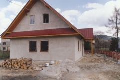 budowa siedziby koła łowieckiego wierchy milówka 8